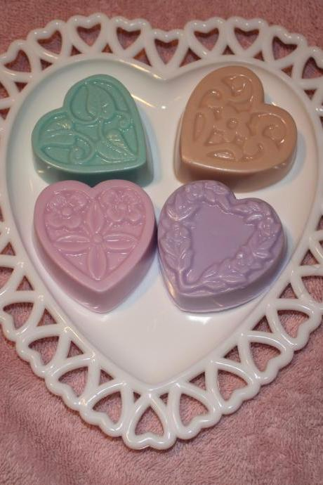 Shea Butter Heart Soap