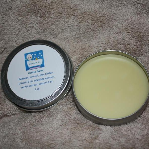Lavender Cuticle Salve